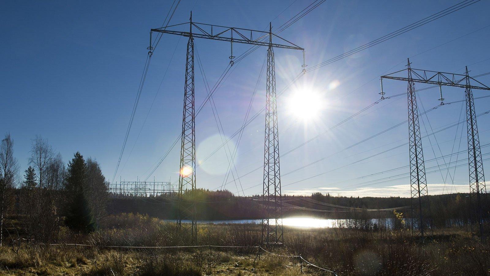 Forsyningssikkerhed og strøm. Foto: Vattenfall.