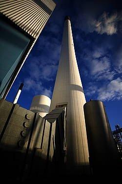 Med industrialiseringen steg atmosfærens indhold af drivhusgasser.