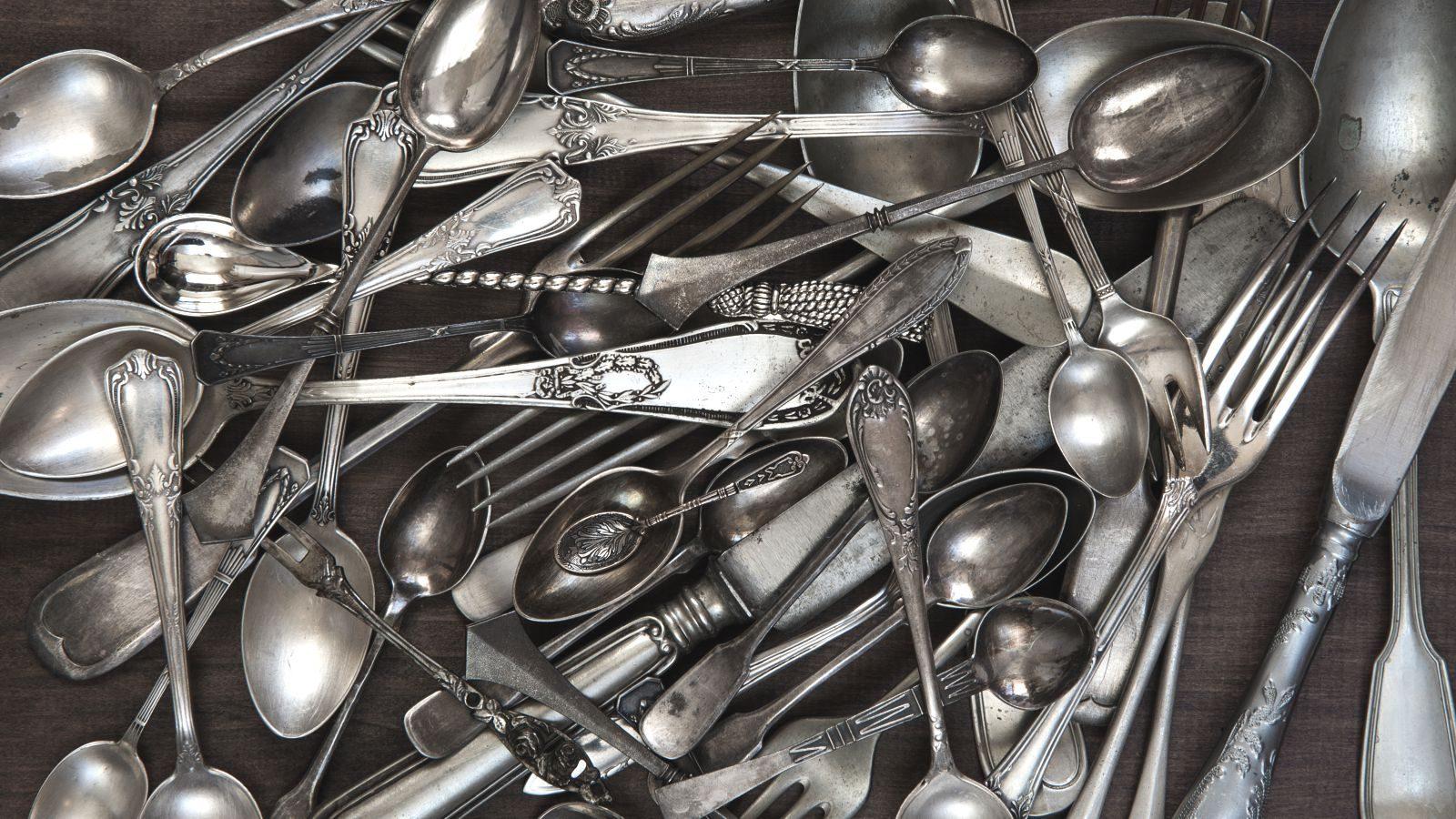 Let opskrift til rensning af sølvtøj