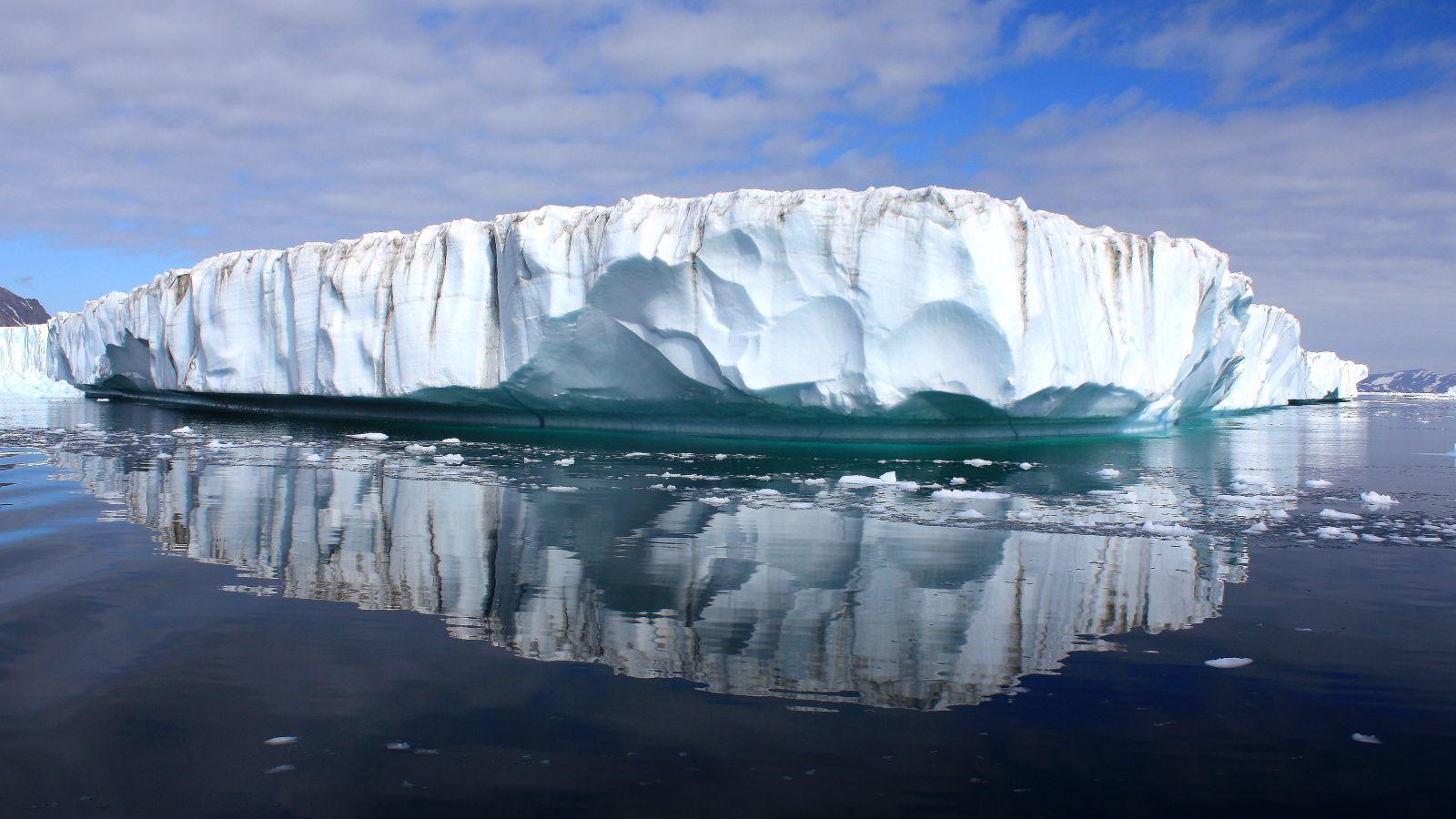 Indlandsis på Grønland