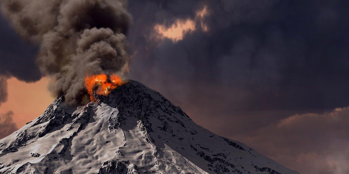 klima, vulkanudbrud