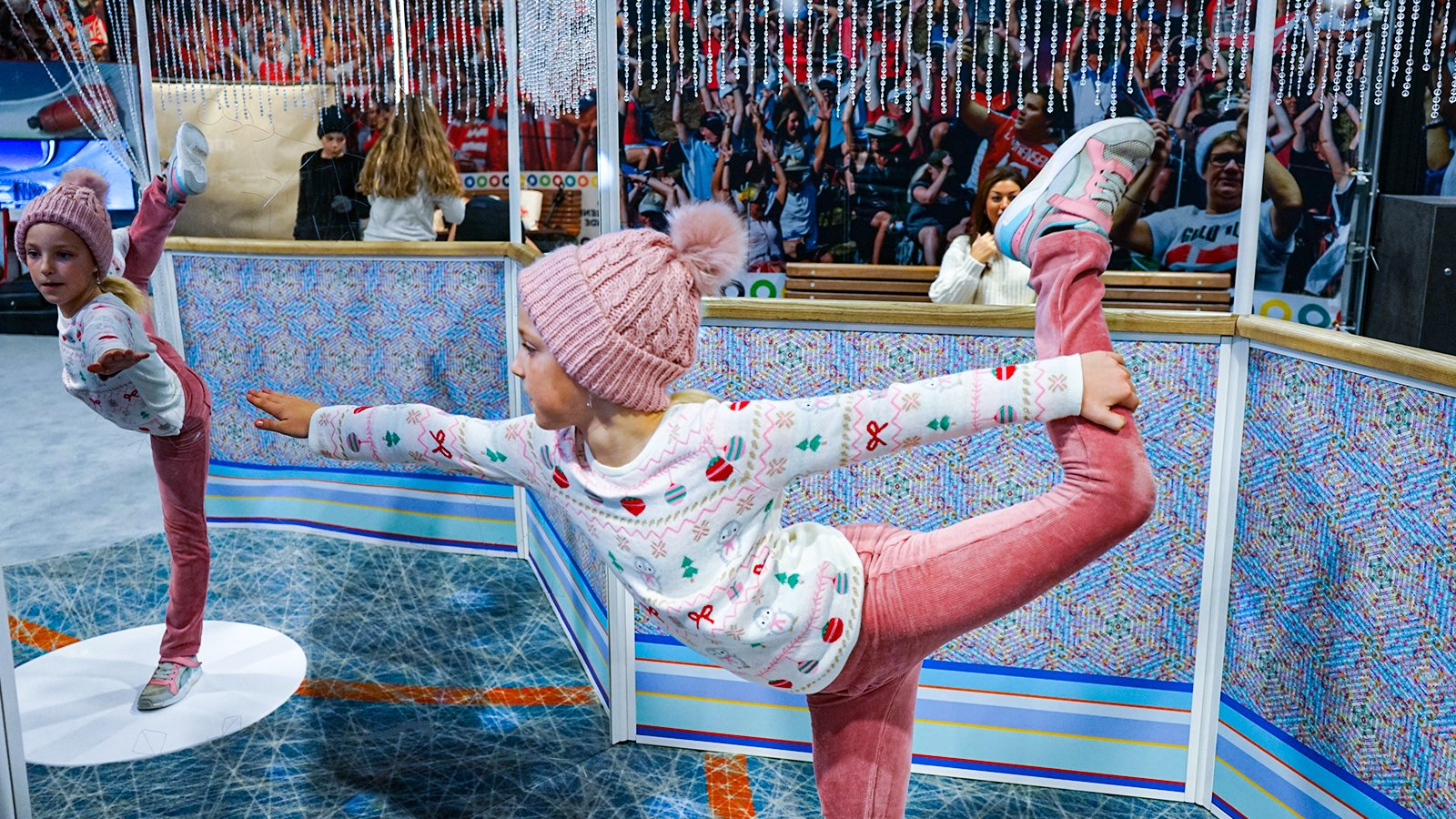 vintersport skøjteprinsesse